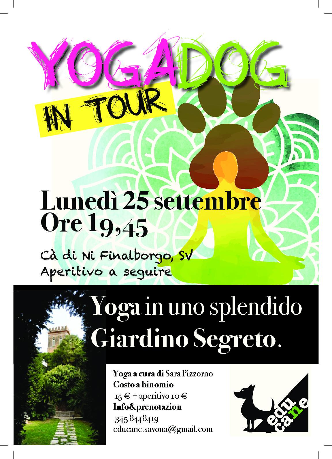 Yogadog nel nostro giardino segreto residence ca di n finalborgo finale ligure - Il giardino segreto pdf ...